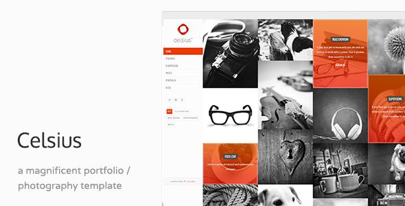 Celsius - Creative Agency Portfolio HTML Template
