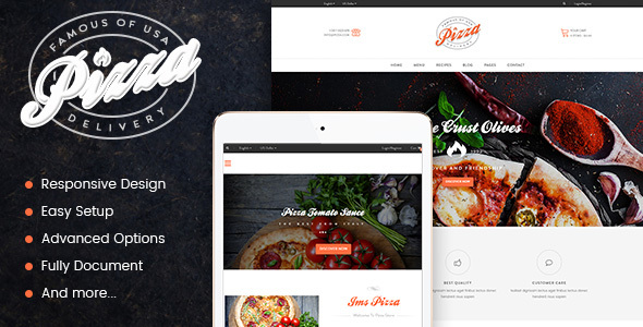 JMS Pizza - Responsive Prestashop Theme