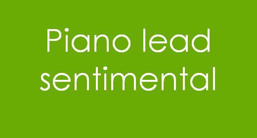 Piano lead Sentimental