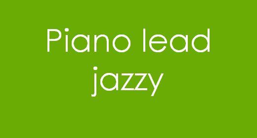 Piano lead Jazzy