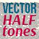 Cute Halftones — Vector Textures