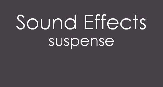 Sound Effects Suspense