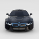 BMW i8 Black rev