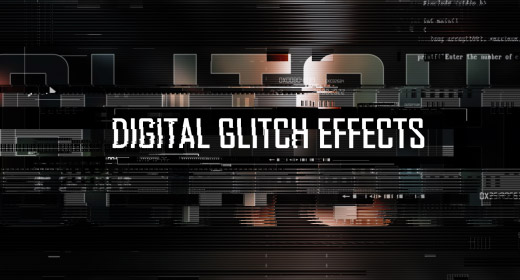 VideoHive Digital Glitch Effects