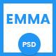 Emma - Multipurpose PSD Template