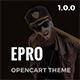 ePro - Premium OpenCart Template