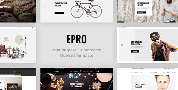 Download ePro - Premium OpenCart Template nulled download