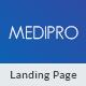 Medipro - Medical HTML Landing Page