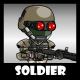 Soldier 50 Heavy Mercenary