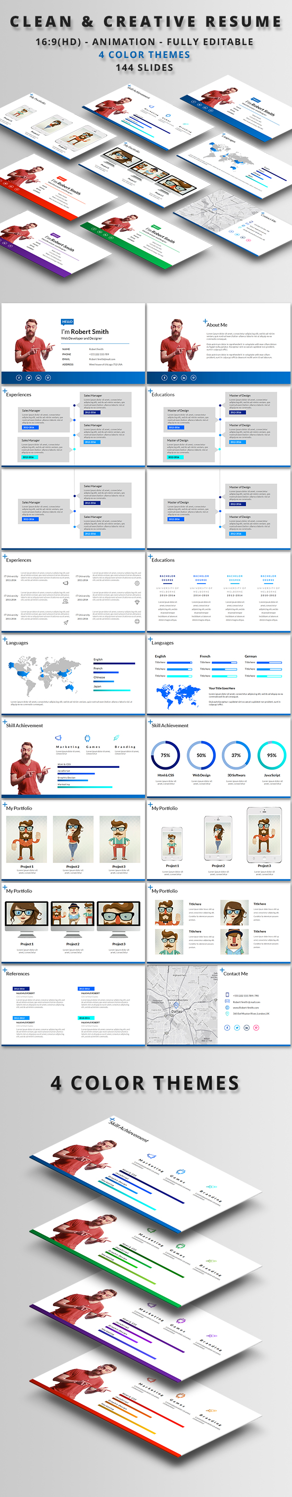 Nyophon Powerpoint Template (PowerPoint Templates)