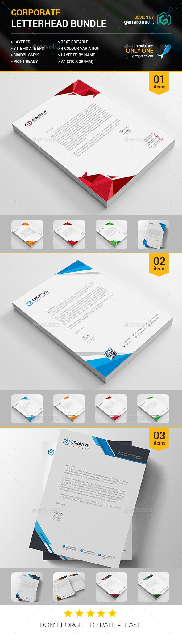 Letterhead Bundle 3 in 1