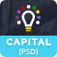 Capital Creative Agency PSD Template