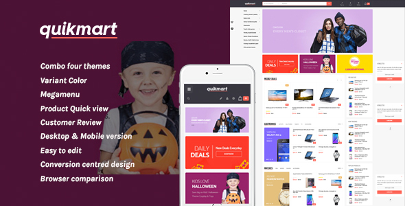 Image of Leo Quickmart Responsive Prestashop Theme