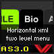 AS3 Dynamic XML Horizontal Menu - ActiveDen Item for Sale