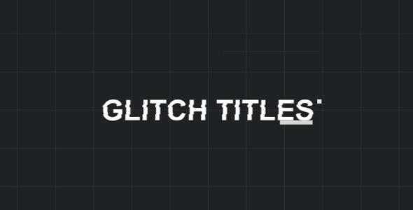 Fast Glitch Titles