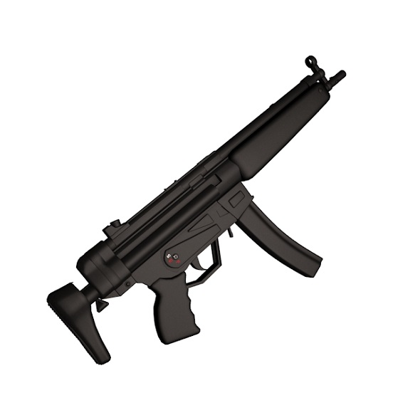 MP5A3 - 3DOcean Item for Sale