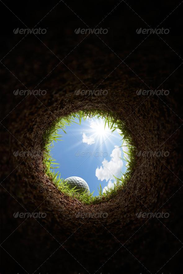 PhotoDune golf ball 1644141