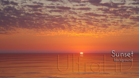 Sundown - Water Taustat Motion Graphics