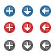 162 Round Pixel Icons - GraphicRiver Item for Sale