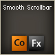 smooth scrollbar component