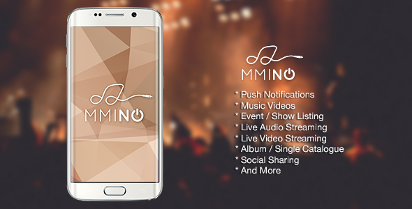 Download Mmino - Android Music Band App nulled download