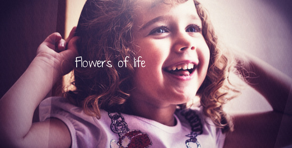 After Effects Project - VideoHive Flowers of life 419575