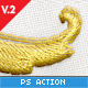 Download Realistic Embroidery - Photoshop Actions from GraphicRiver