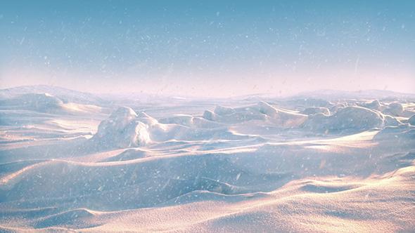 Arctic Landscape Sunset - Taustat Luonnosta Motion Graphics