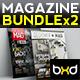 Magazine Template Bundle - InDesign Layout V4