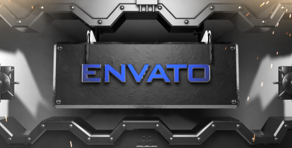 Download 3D Vault Door Logo/Text Reveal nulled download