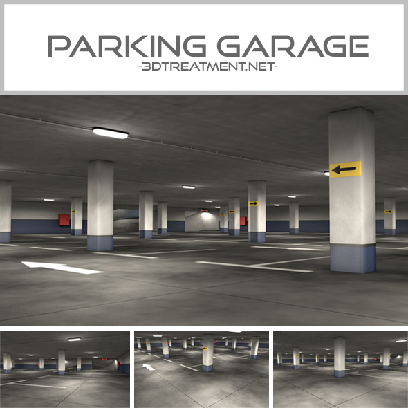 These Innovative Parking Garages Are Anything But: Parking Garage By 3dtreatment