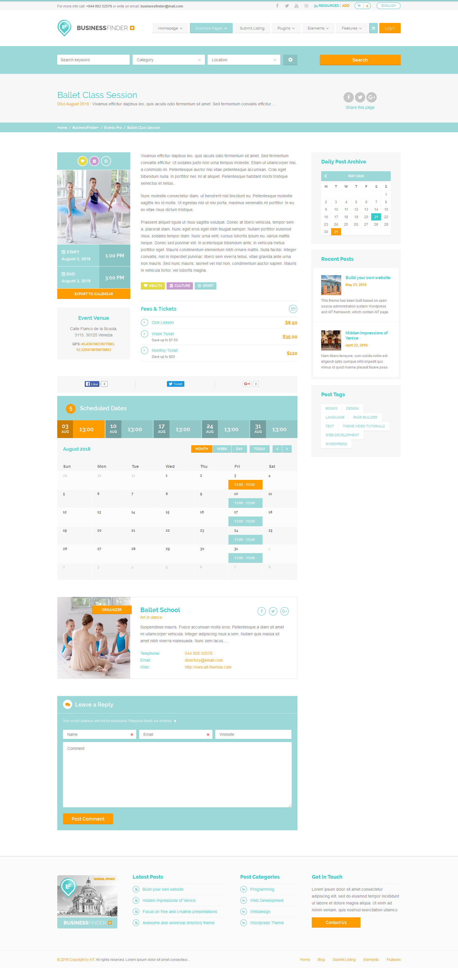 Business directory website themes pchelovod business directory website themes flashek Images
