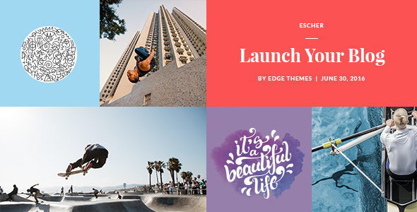 Download Escher - An Urban Lifestyle Blog Theme nulled download
