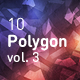 Polygon Abstract Backgrounds vol.3