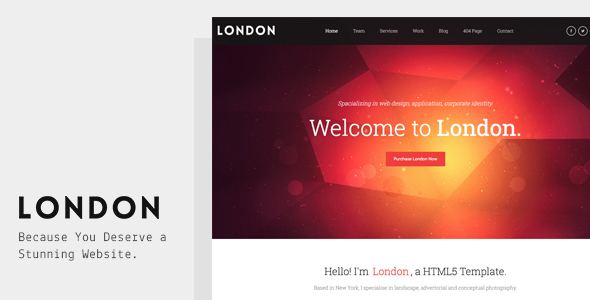 London - Creative Responsive Template