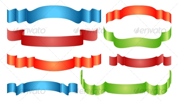 Ribbon set - Decorative Symbols Decorative