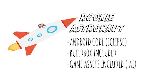 Rookie Astronaut - Android Game with Admob - CodeCanyon Item for Sale