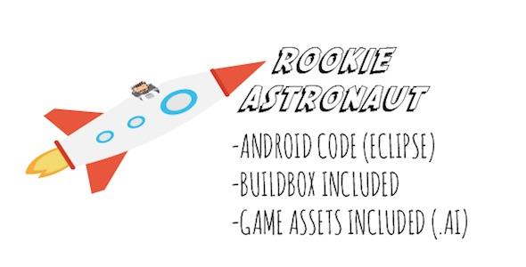 新秀宇航员 - 安卓游戏使用AdMob - CodeCanyon项目出售