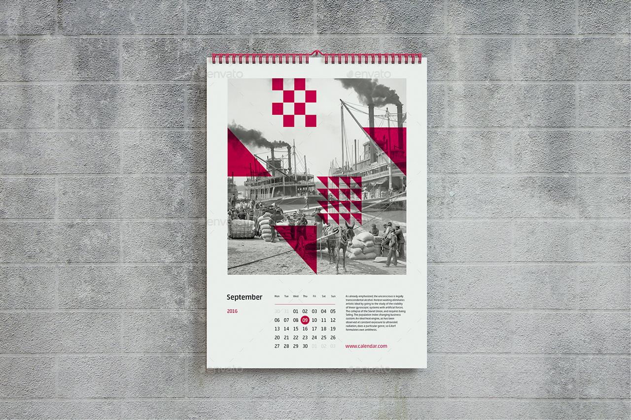 Kitchen Calendar Design : Wall calendar mock up a by shumchuk graphicriver