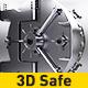 3D Safe Logo Reveal