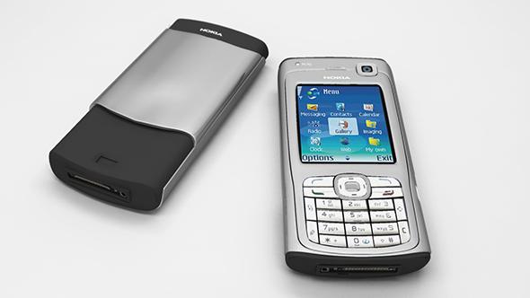 Nokia N70  - 3DOcean Item for Sale