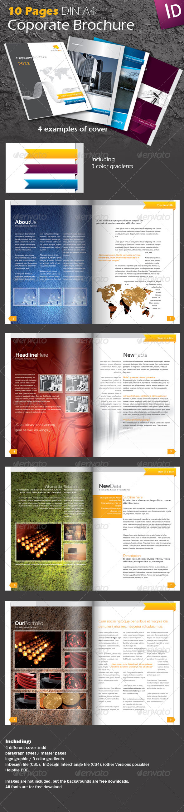 GraphicRiver Coporate Brochure Template 193792