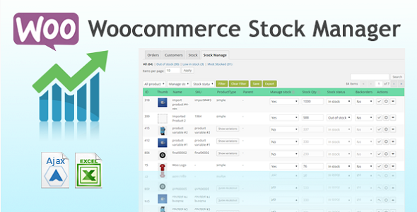 Woo Stock Manager & Report - CodeCanyon Item for Sale