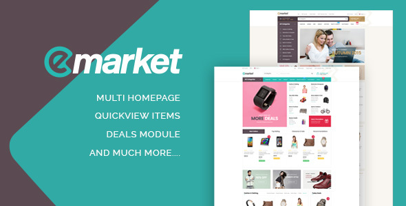 Image of ST Emarket Shopify Theme