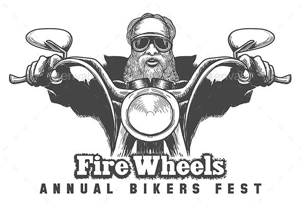 Bikers Festival Emblem