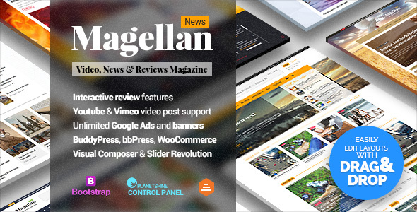 Magellan - Video News & Reviews Magazine
