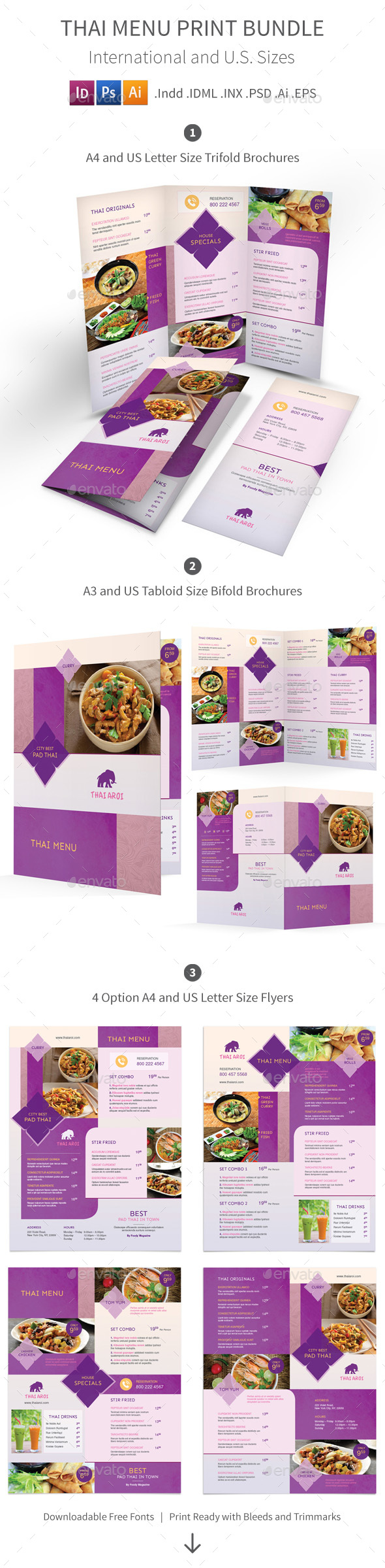 menu templates from graphicriver page 48
