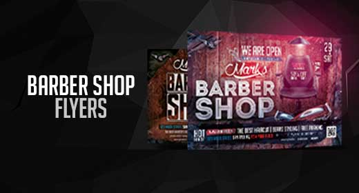 Barber Shop Flyers