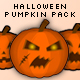Halloween Pumpkin Pack (Drag n' Drop) - ActiveDen Item for Sale