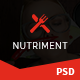 Nutriment - Restaurant / Cafe / Food Bootstrap PSD Template